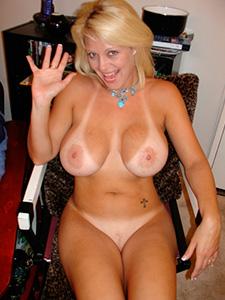 Фото голых загорелых женщин