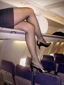 Эротические фото сексуальных стюардесс