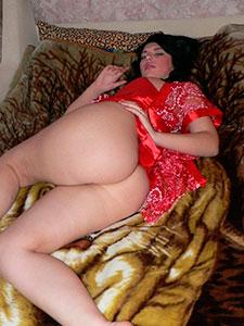 Подруга с большой попкой и красивой киской