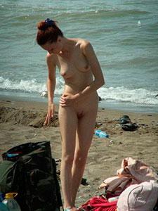 Подсмотренное на нудистском пляже