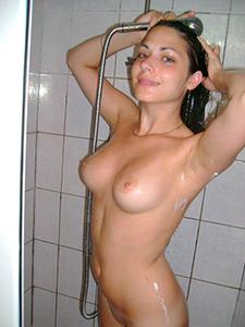 Частные фото секса с брюнеткой