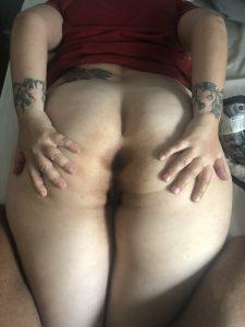 Фото ануса толстой жены крупно